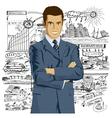 entrepreneur vector image