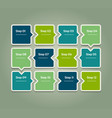 progress background template for diagram graph vector image