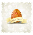 Grungy Easter Background vector image