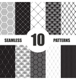 pattern dots collection Geometric set vector image vector image