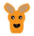 Avatar of kangaroo vector image
