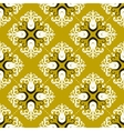 Ornamental vintage pattern with damask motifs vector image