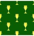 Gold Award Seamless Pattern vector image
