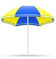 beach parasol 02 vector image