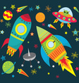 Outer Space Set vector image