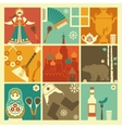 Traditional symbols of Russia vector image