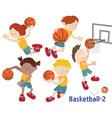 Basketball 02 vector image