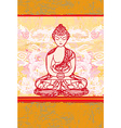 Chinese Traditional Artistic Buddhism Pattern vector image