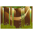 Forest Woods Background vector image vector image