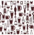 beer tap icons vector image