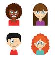 avatars people vector image