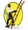 Chimney sweep resize vector image