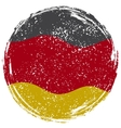 Germany grunge flag vector image