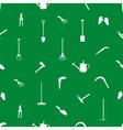 gardening tools pattern eps10 vector image