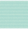 Seamless chevron pattern on linen turquoise canvas vector image