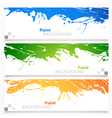 Set of colored banners vector image vector image