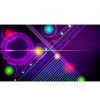 Abstract technology-style background vector image