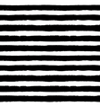 Brush Strokes Black White Pattern vector image