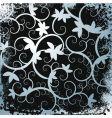 abstract grunge border vine background vector image