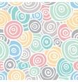 Pop art retro seamless background vector image