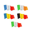 a Flags of Europe Countries vector image
