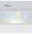 abstract background template glow and sta vector image