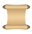 Manuscript blank paper vector image