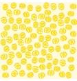 Ruote Italian pasta Seamless pattern vector image