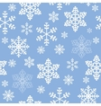 Winter christmas new year seamless pattern vector image vector image