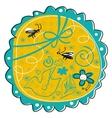 seasonal doodle vector image vector image