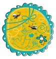 seasonal doodle vector image