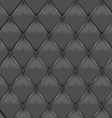 Gray Leather Upholstery vector image