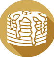 Pancakes Icon vector image vector image
