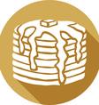 Pancakes Icon vector image