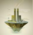 enviromental polution vector image