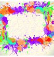abstract background coloured vector image vector image