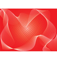 Red abstract vector image
