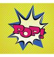 Pop Art Style Typography vector image