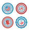 Independence Day Stamp vector image