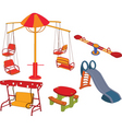 park playground vector image
