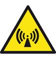 Wireless Radio Signal Sign vector image vector image