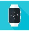 Light Smart Watch Flat Stylized vector image