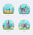 Time to travel Travel to World Tourism of vector image