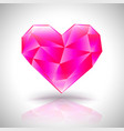triangular heart love symbol available in eps vector image