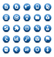 icons for business metaphors vector image vector image