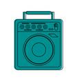 guitar amplifier icon image vector image