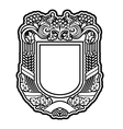 Shield for decoration vector image