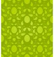 Eastern eggs seamless pattern vector image