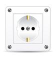 european electric plug vector image