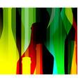 alcohol bottle color vector image